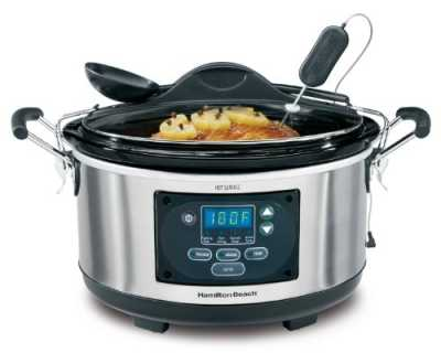 hamilton beach set and forget slow cooker